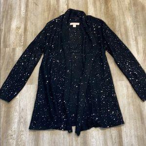 NWOT- Laura Ashley glitter cardigan sweater!